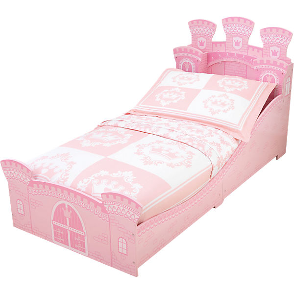 kinderbett prinzessin schlo 70 x 140 cm kidkraft mytoys. Black Bedroom Furniture Sets. Home Design Ideas