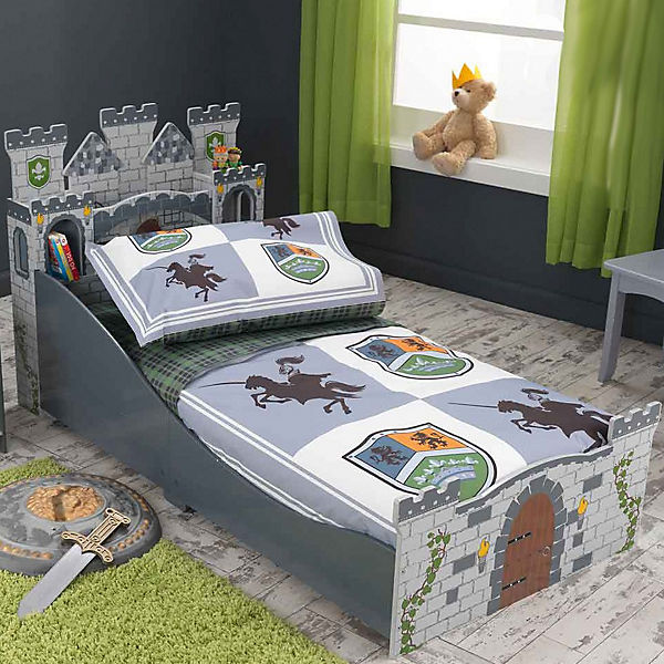 kinderbett ritterburg 70 x 140 cm kidkraft mytoys. Black Bedroom Furniture Sets. Home Design Ideas
