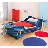 Kinderbett Flugzeug, 70 x 140 cm