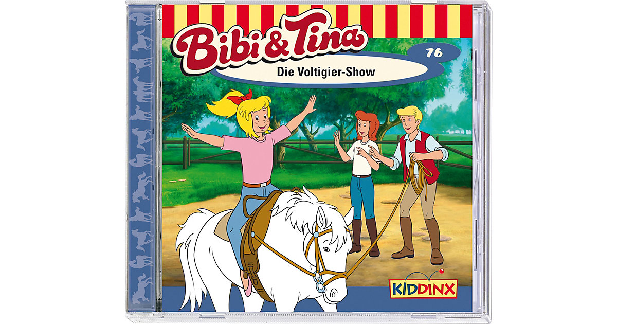 CD Bibi & Tina 76 - Die Voltigier Show Hörbuch