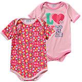 KIDIVIO Baby Body Doppelpack für Mädchen