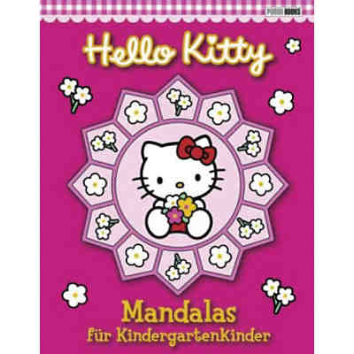 Hello Kitty: Mandalas für Kindergartenkinder