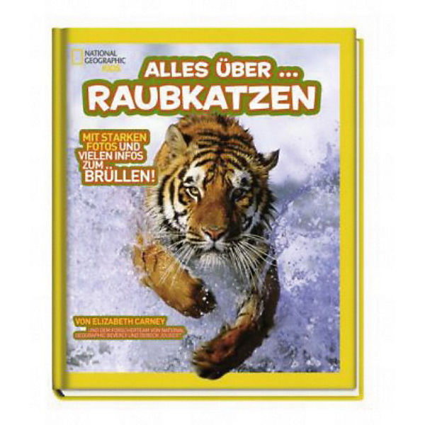 National Geographic Kids: Alles über - Raubkatzen