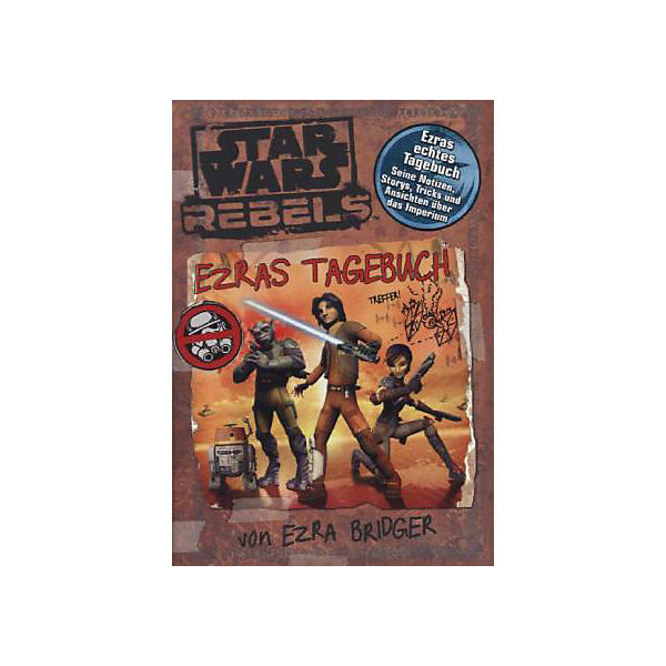 Star Wars: Rebels  - Ezras Tagebuch