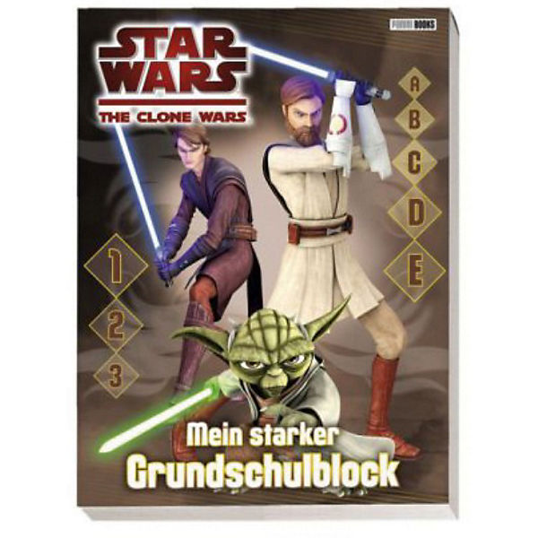 Star Wars: The Clone Wars - Grundschulblock