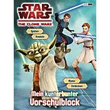 Star Wars: The Clone Wars - Mein kunterbunter Vorschulblock