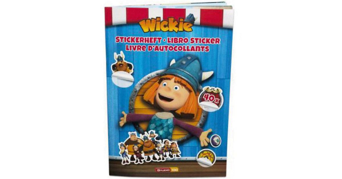 Buch - Wickie und die starken Männer: Stickerbuch