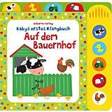 Babys erstes Klangbuch: Auf dem Bauernhof, mit Tonmodulen