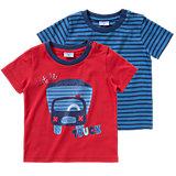 KIDIVIO Baby T-Shirt Doppelpack für Jungen