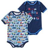 KIDIVIO Baby Body Doppelpack für Jungen