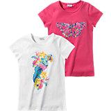 KIDIVIO T-Shirt Doppelpack für Mädchen