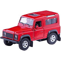 Модель машины 1:34-39 Land Rover Defender, Welly
