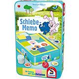 Die Sendung mit dem Elefanten Schiebe-Memo Reisespiel in der Metalldose