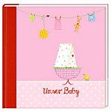 Eintragalbum:Unser Baby, rosa