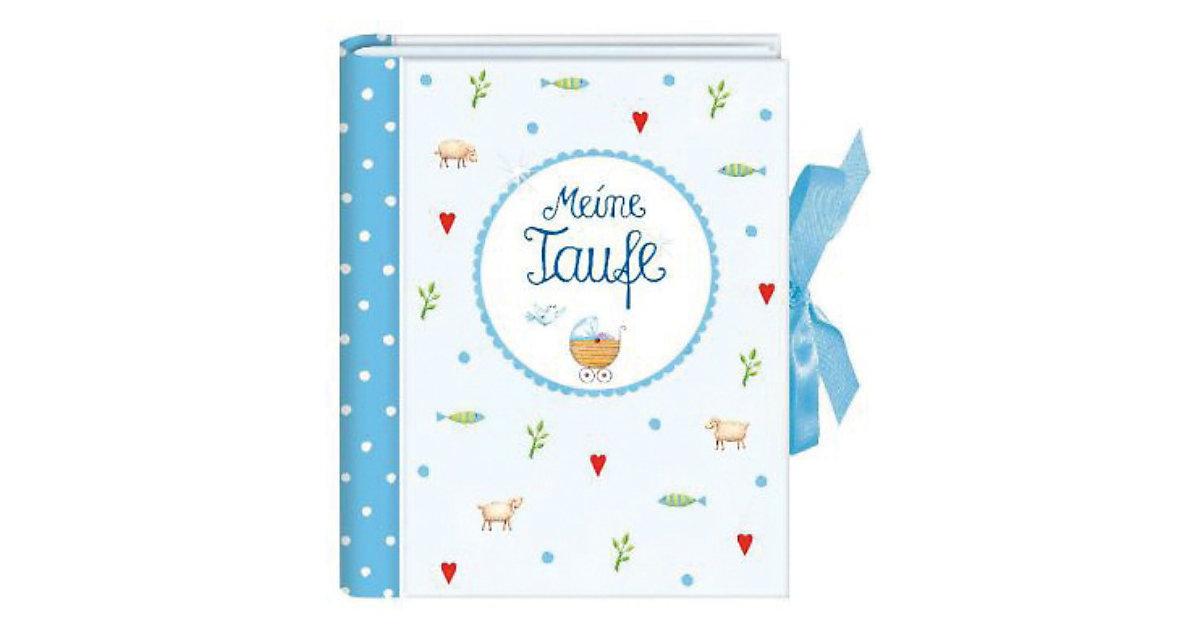 Buch - Kleines Foto-Einsteckalbum: Meine Taufe, hellblau