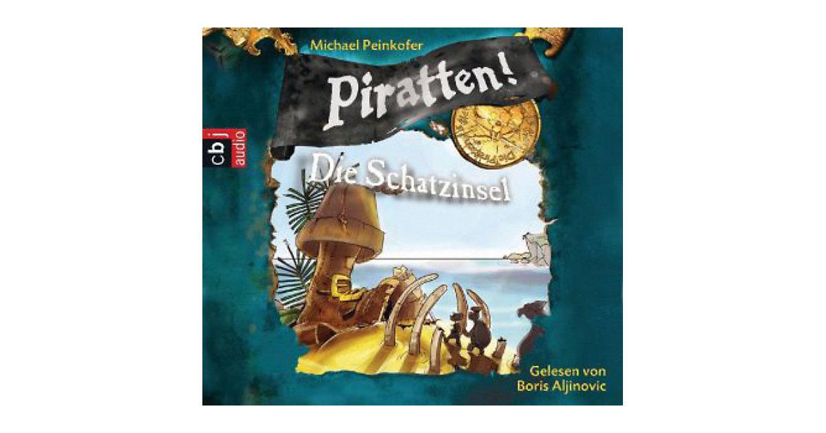 Piratten!: Die Schatzinsel, Audio-CD