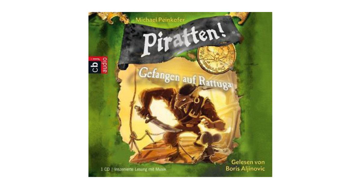 Piratten!: Gefangen in Rattuga, 1 Audio-CD