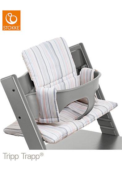 tripp trapp sitzkissen soft stripe stokke mytoys. Black Bedroom Furniture Sets. Home Design Ideas