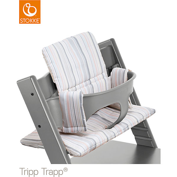 tripp trapp sitzkissen soft stripe stokke mytoys. Black Bedroom Furniture Sets. Home Design Ideas