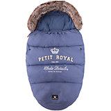 Конверт зимний с опушкой Petit Royal Blue, Elodie Details