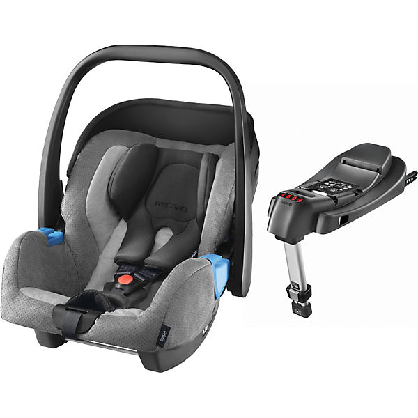 Babyschale Privia mit Base Recarofix, shadow
