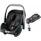 Babyschale Privia mit Base Recarofix, Black, 2015