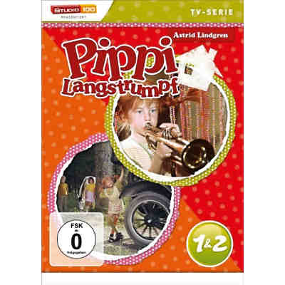 DVD Pippi Langstrumpf  1 & 2 (TV-Serie)