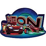 Konturenpuzzle - Disney Cars Neon - 15 Teile