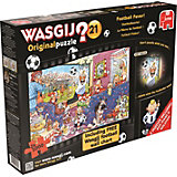 WASGIJ Puzzle 2in1 - Fußball-Fieber - 1000 Teile