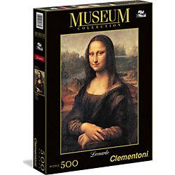 "Пазл ""Мона Лиза"" 500 деталей, Clementoni"
