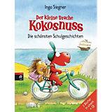 Der kleine Drache Kokosnuss: Die schönsten Schulgeschichten, mit Audio-CD