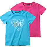 BLUE SEVEN T-Shirt Doppelpack für Mädchen
