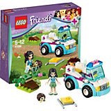 LEGO Friends 41086: Ветеринарная скорая помощь