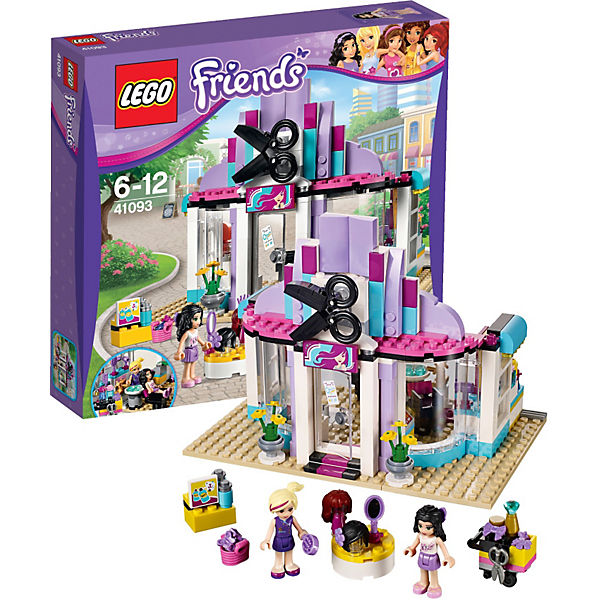 Lego 41093 friends heartlake friseursalon lego mytoys for Lego friends salon de coiffure