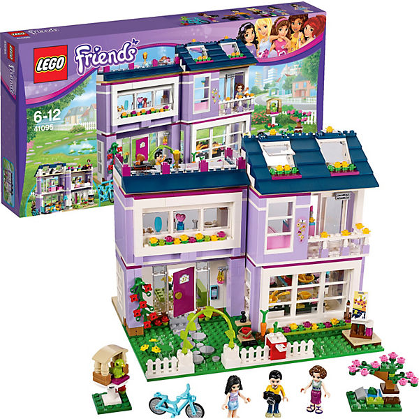 LEGO Friends 41095: Дом Эммы