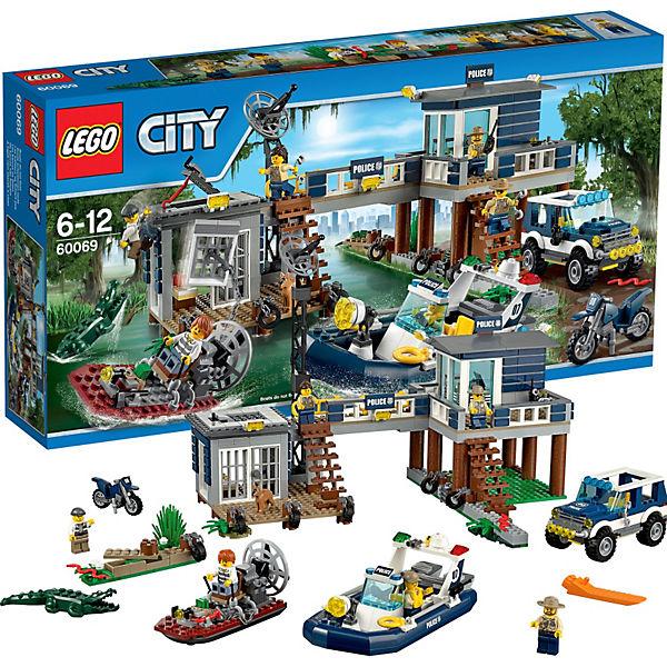 LEGO City 60069: Участок новой Лесной Полиции
