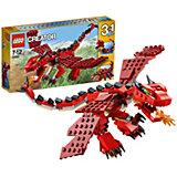 LEGO Creator 31032: Огнедышащий дракон