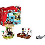 LEGO 10679 Juniors: Piraten-Schatzsuche