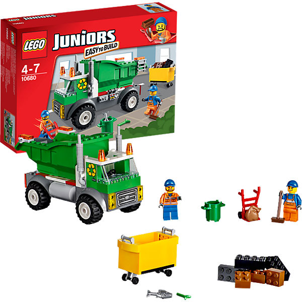 LEGO 10680 Juniors: Müllabfuhr