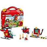 LEGO Juniors 10685: Чемоданчик «Пожар»