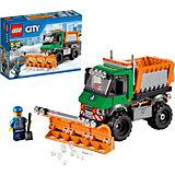 LEGO City 60083: Снегоуборочный грузовик