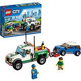 LEGO 60081 City: Pickup-Abschleppwagen mit Auto