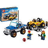 LEGO City 60082: Перевозчик Песчаного Багги