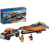 LEGO City 60085: Внедорожник 4x4 с гоночным катером