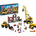 LEGO 60076 City: Abriss-Baustelle