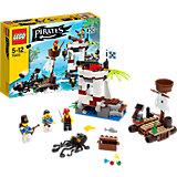 LEGO 70410 Pirates: Soldaten-Wachposten mit Piratenfloß