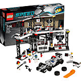 LEGO Speed Champions 75911: Пункт техобслуживания McLaren Mercedes