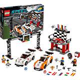 LEGO Speed Champions 75912: Финишная линия гонки Porsche 911 GT