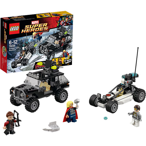 LEGO 76030 Super Heroes: Duell mit den Hydra-Truppe