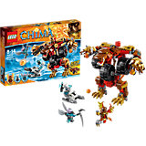 LEGO 70225 Legends of Chima: Bladvics Grollbär-Mech